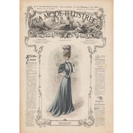 Complete magazine La Mode Illustrée 1907 N°18