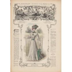 Complete magazine La Mode Illustrée 1907 N°22