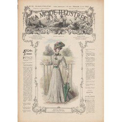 Revue complète de La Mode Illustrée 1907 N°22