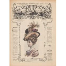 Revue complète de La Mode Illustrée 1907 N°23