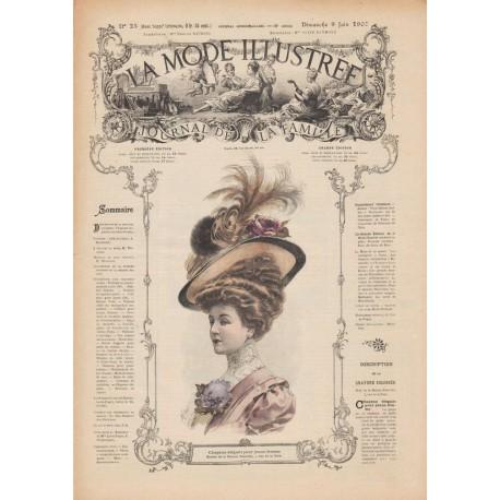 Complete magazine La Mode Illustrée 1907 N°23