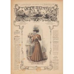 Revue complète de La Mode Illustrée 1907 N°28