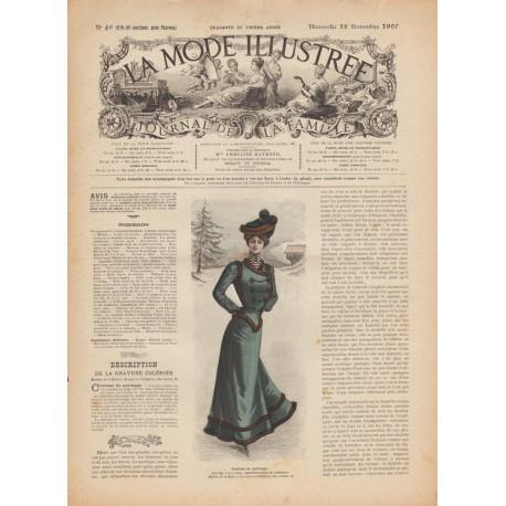 Complete magazine La Mode Illustrée 1900 N°46