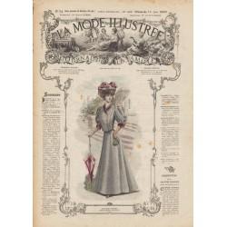 Revue complète de La Mode Illustrée 1907 N°24