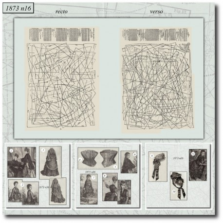 Sewing patterns Mode Illustrée 1873 36