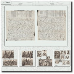 Patrons de La Mode Illustrée 1870 N°06