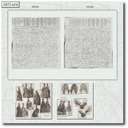 Sewing patterns Mode Illustrée 1871 14