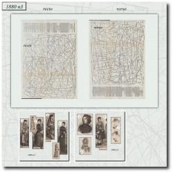 Sewing patterns La Mode Illustrée 1880 N°03