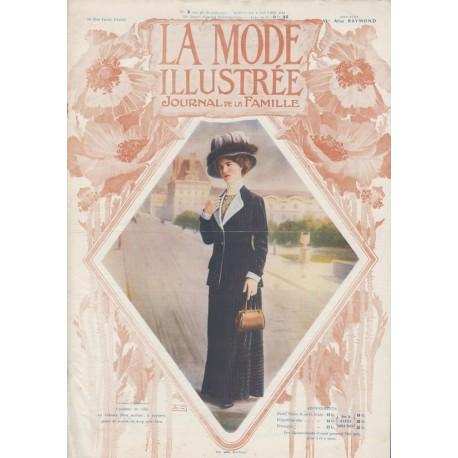 Complete magazine La Mode Illustrée 1911 N°2