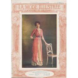 Complete magazine La Mode Illustrée 1911 N°4