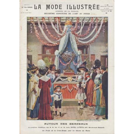 Complete magazine La Mode Illustrée 1911 N°23