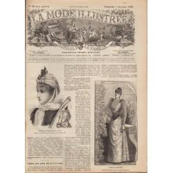 Revue complète de La Mode Illustrée 1890 N°49