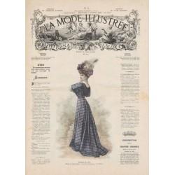 Complete magazine la Mode Illustrée 1908 06