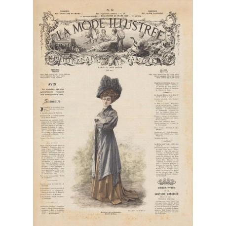 Complete magazine la Mode Illustrée 1908 12