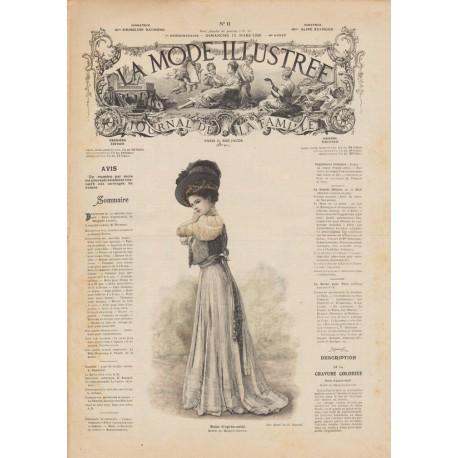 Complete magazine la Mode Illustrée 1908 11