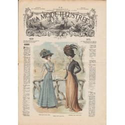 Revue complète de La Mode Illustrée 1908 N°31