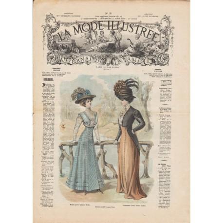 Complete magazine La Mode Illustrée 1908 N°31