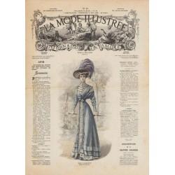 Complete magazine La Mode Illustrée 1908 N°22