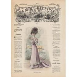 Complete magazine La Mode Illustrée 1908 N°28