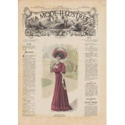 Revue complète de La Mode Illustrée 1908 N°36