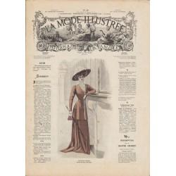 Revue complète de La Mode Illustrée 1908 N°39