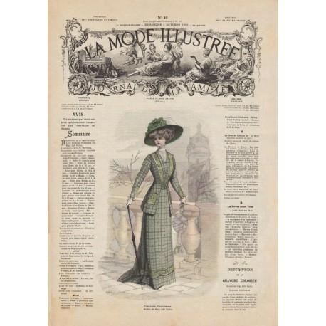 Complete magazine la Mode Illustrée 1908 40