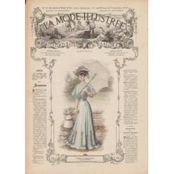 Revue complète de La Mode Illustrée 1907 N°35