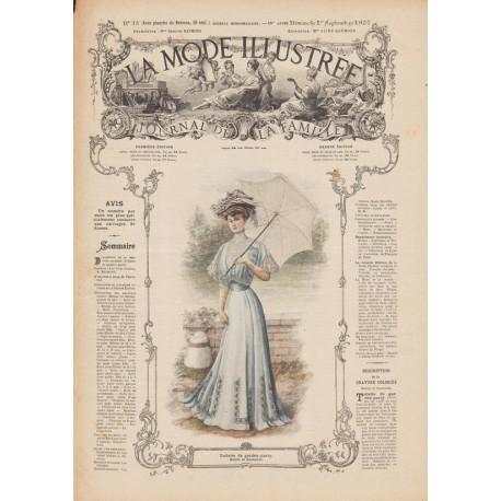 Complete magazine La Mode Illustrée 1907 N°35