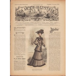Complete magazine La Mode Illustrée 1902 N°49