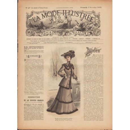 Revue complète de La Mode Illustrée 1902 N°49