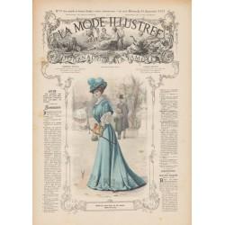 Complete magazine La Mode Illustrée 1907 N°37