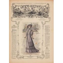 Revue complète de La Mode Illustrée 1907 N°39
