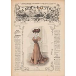 Complete magazine La Mode Illustrée 1907 N°41