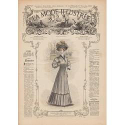 Complete magazine La Mode Illustrée 1907 N°45