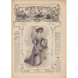 Revue complète de La Mode Illustrée 1907 N°48