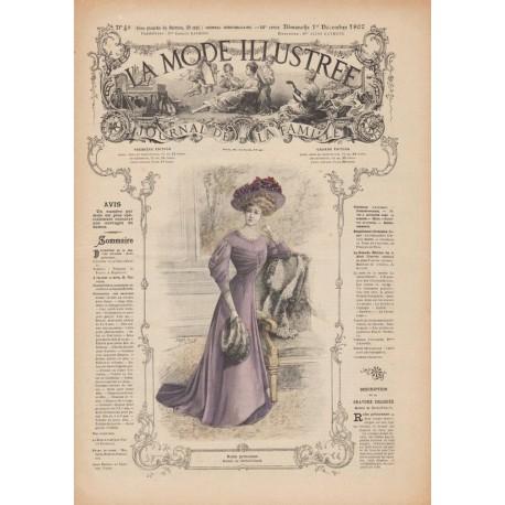 Complete magazine La Mode Illustrée 1907 N°48