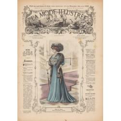 Revue complète de La Mode Illustrée 1907 N°49