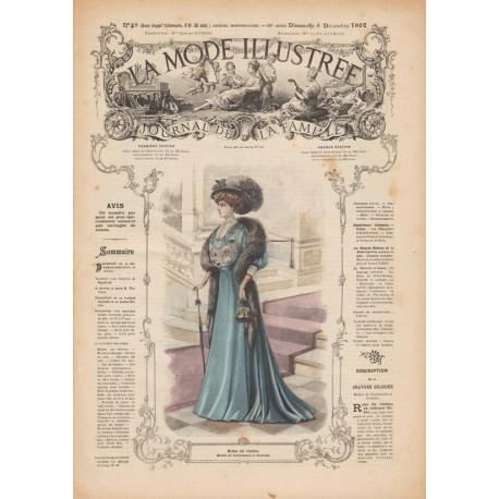 Complete magazine La Mode Illustrée 1907 N°49