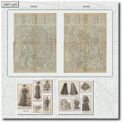 Sewing patterns La Mode Illustrée 1907 N°50