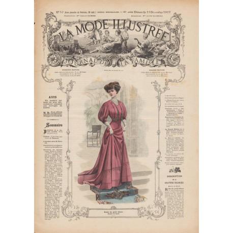 Complete magazine La Mode Illustrée 1907 N°50