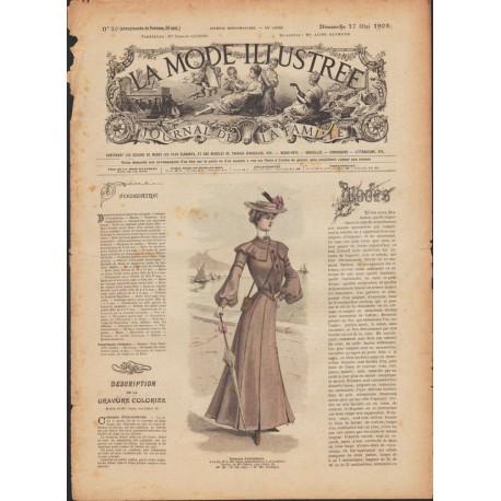 Revue complète de La Mode Illustrée 1903 N°20