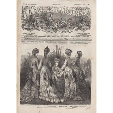 Revue complète de La Mode Illustrée 1876 N°34