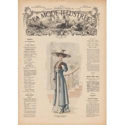 Revue complète de La Mode Illustrée 1909 N°05