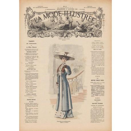 Complete magazine La Mode Illustrée 1909 N°05