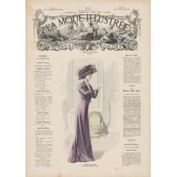 Complete magazine La Mode Illustrée 1909 N°15