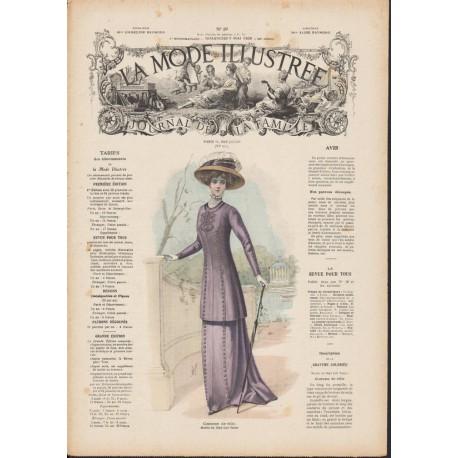 Complete magazine La Mode Illustrée 1909 N°19