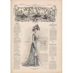 Complete magazine La Mode Illustrée 1909 N°14