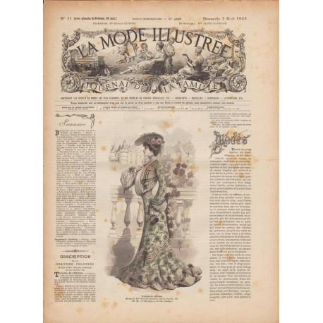 Revue complète de La Mode Illustrée 1903 N°31