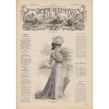Complete magazine La Mode Illustrée 1909 N°22