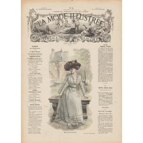 Complete magazine La Mode Illustrée 1909 N°24